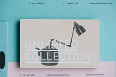 lovely stationery unlisted collection 7 #identity #typography