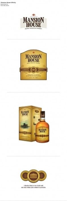 Not Just Logos (Part II) on the Behance Network #packaging #whisky #house #mansion