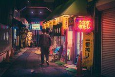 Tokyo at Night by Masashi Wakui