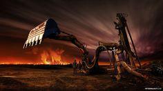 Dark World Of Machines By Slovakian Photographer Peter Majkut | Bored Panda