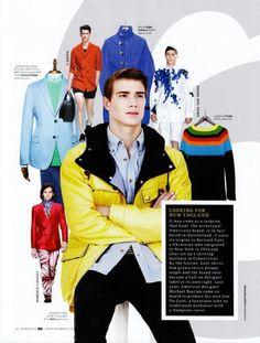 Collage. Color. Fashion. #fashion #male #editorial