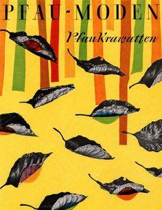 All sizes | Walter Breker Illustration 3 | Flickr - Photo Sharing! #walter #1950s #illustration #breker #pfaumoden