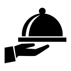 See more icon inspiration related to food, hand, plate, tray, bowl, cover, kitchen pack, covered and rounded on Flaticon.