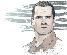 Henry Rollins for Przekroj on the Behance Network #rollins #henry #illustration #portrait