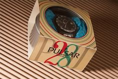 Courtney Goodhart Graphic Designer #pulsar #design #watch #type #package