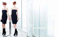 Lindsey Wixson + Sasha Luss by Karl Lagerfeld #fashion #photography #inspiration