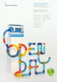 Brighton Open Days : Joe Luxton #print #photography #poster