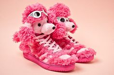 Image of adidas Originals by Jeremy Scott JS Poodle #wtf #js #adidas #shoes #pink #poodle #fashion #scott #jeremy #shades