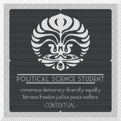 UI Political Science Student #political #pattern #university #of #design #ui #indonesia #illustration #universitas #politics #science #student