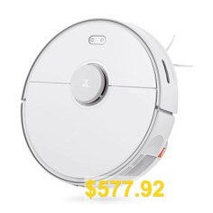 Roborock #S5 #Max #Laser #Navigation #Robot #Wet #and #Dry #Vacuum #Cleaner #from #Xiaomi #youpin #- #WHITE