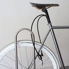 This bike lock is hidden and stored within its seat post. #design #product #industrialdesign #outdoor