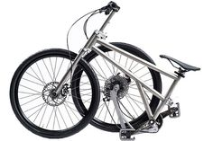 Ride your bike wherever and whenever you want with this revolutionary folding bicycle. Take it to work or just take it with you! #design #pr