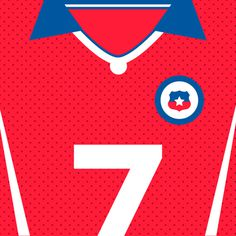 Chile La Roja #flat #swiss #world #design #clean #shirts #nations #sports #football #cup #futbol