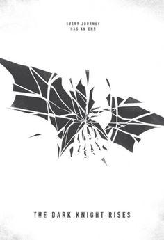 house of recker #rises #knight #the #batman #illustration #poster #minimalist #dark