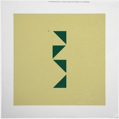 Geometry Daily #abstract #geometry #print #geometric #simple #triangle #poster