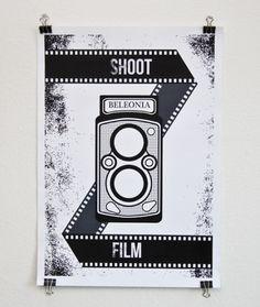 Beleonia #135 #35mm #analog #camera #poster #film #rolleiflex #beleonia