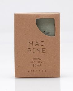 Mad Pine Soap #needsupply #design #graphic #desing