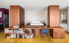 70 sqm Apartment Designed by Pascali Semerdjian for a Young Couple