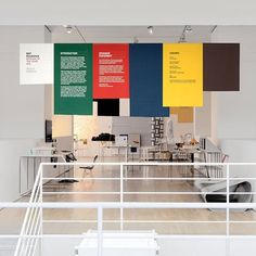 FFFFOUND! | Design Museum - Multistorey #wayfinding #exhibition