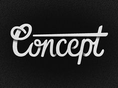 Dribbble - Concept by Jack A. Johnson #type #lettering #typography