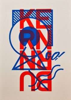 Baubauhaus. #poster #typography