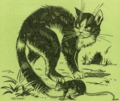 Poltergeist Δ #cat and rat