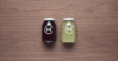 Canalla #packaging #jars #monogram #futura #logo #manifiesto