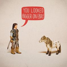 FFFFOUND! | Deception | Flickr - Photo Sharing! #toys #illustration #horse