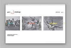 Your Challenge by Studio AH—HA #web design #website