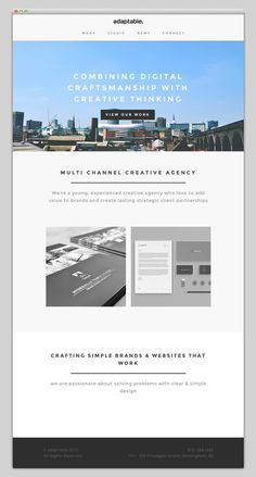 Adaptable #layout #website #web #web design