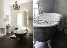 black tubs #interior #design #decor #deco #decoration