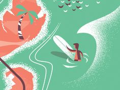 Hla surfer dribbble #surf