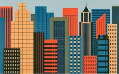 WANKEN - The Blog of Shelby White » Ben Newman Illustration #city #illustration #retro