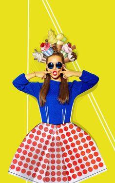 #colores #clipart #girl #collage #design #icecream #summer #icecreamhead #fun #summerfun #dress # #paperdress