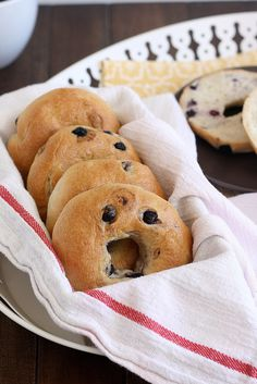 Blueberry Bagels #food