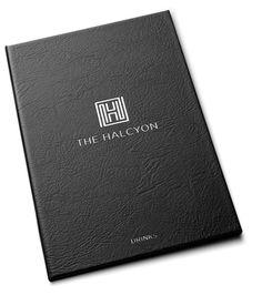 Halcyon Bath drinks menu #logo