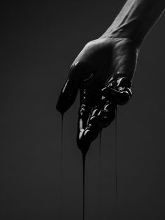 sid #drip #white #horror #black #paint #photography #liquid #arm #and #hand