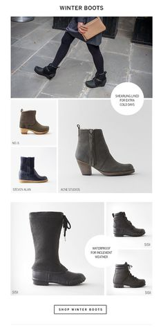 Shop Winter Boots #alan #email #steven