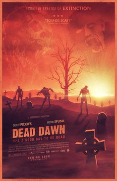 Dead dawn #zombie #design #graphic #poster