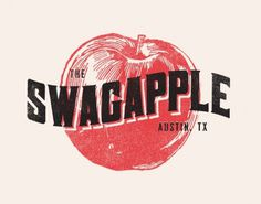 FYI Zach Graham Swag Apple Illustration #vintage #type