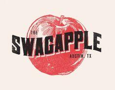FYI Zach Graham Swag Apple Illustration #type #vintage