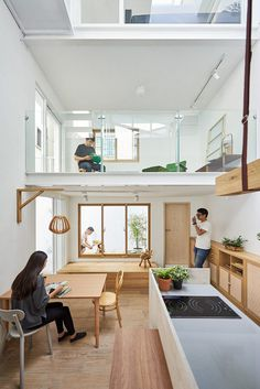Light-Filled Courtyard House That Combines a Studio and Exhibition Space 3
