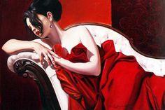 Figurative Paintings by Kathrin Longhurst #kathrin #paintings #longhurst #figurative