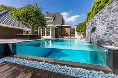 CJWHO ™ (Striking backyard oasis in The Netherlands Dream...) #netherlands #design #pool #architecture #luxury