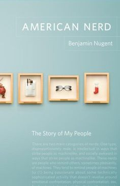 American Nerd #book #book cover #editorial