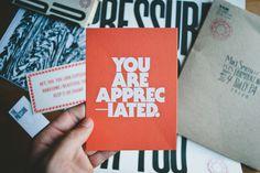 You are appreciated. || Adam Garcia #design #typography