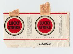 Lucky strike original pack  #original #screenprint #bytomlove