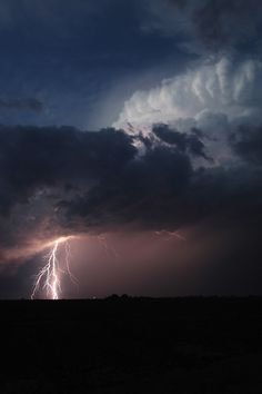 Storm #clouds #darkness #night #photography #storm #lightning #strike
