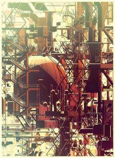 Plants on the Behance Network #plants #digital #illustration #behance #art #olschinsky