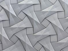 Organic Geometric Concrete Tile by KAZA Concrete concrete tile collection 8 #wallcoverings #tiles #concrete #geometric